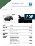Dacia Duster Configurare