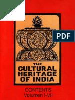 Cultural Heritage of India - Contents of Vol I-VI.pdf