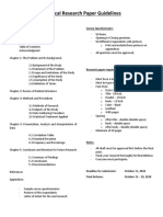 Research Guidelines