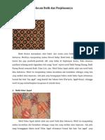 5 Macam Batik Dan Penjelasannya