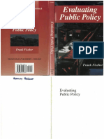 Frank Fischer_Evaluating Public Policy_1999