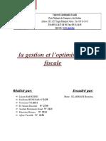 Rapport de la Gestion Fiscale.docx
