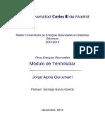 Jorge Ajona Gurucharri. Centrales Termosolares.