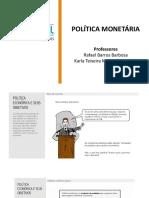 Política Monetária