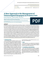 A New Approach to the Management of Uninvestigated Dyspepsia in Primary Care