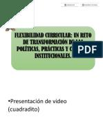 Modulo 2 Flexibilidad Curricular.