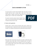 Sergical Absorbent Cotton