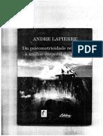 Psicomotricidade - Andre Lapierre