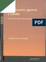 L 11787_O'DONNELL_Democracia, Agencia y Estado