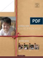 China Care Foundation - Fall 2010 Newsletter