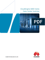 Huawei CloudEngine 6800 Series Switches Data Sheet