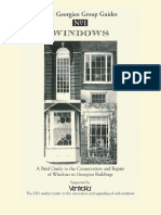 The Georgian Group Guides N1 Windows-s