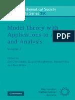 Zoe Chatzidaki - Model Theory & Applications Algebra Analysis - 2.pdf