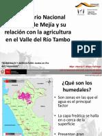 06 Henrry Alayo El Santuario Nacional Lagunas de Mejía y Su Relación Con La Agricultura en El Valle Del Río Tambo