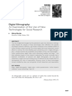 Murthy (2008) Digital Ethnography - An Examination of the Use of New Technologies for Social Research, Sociology 42(5) 837–855.pdf