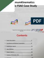 OptimumKinematics Case Study Generic Formula Student Car