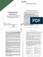 El Funcionamiento Institucional - Fernández