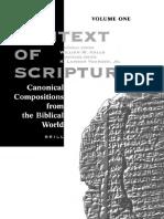 William W. Hallo, K. Lawson Younger - The Context of Scripture (2003, Brill Academic Pub).pdf