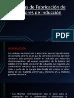 Normas de Fabricación de Motores de Inducción