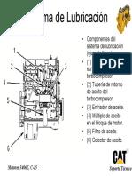 Sistema de Lubricación en motores caterpillar 3406E, C-15