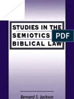 Jackson Studies in the Semiotics of Biblical Law