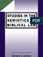 Jackson Studies in the Semiotics of Biblical Law
