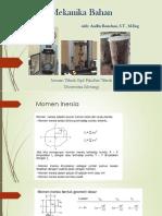 Mekanika Bahan_Momen Inersia