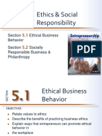 Ethical Behavior in a Business