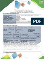 Guía de Actividades y Rubrica de Evaluación Actividad 4 Desarrollo Del Componente Práctico