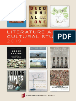 Literature & Cultural Studies 2019 Brochure