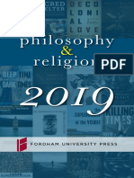 Philosophy & Religion 2019 Brochure