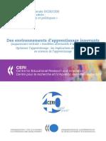 Des Environnements d'Apprentissages Innovants_les Implications de La Recherche en Sciences de l'Apprentissage
