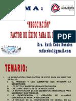 9a Sesión Negociación como factor de éxito del Directivo