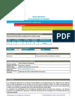 Guía D. Metodología de la investigación 2019 Infantil - A. Zubiarrain