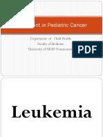 treatment in pediatric cancer