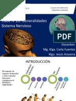 Clase 20 Generalidades Sistema Nervioso