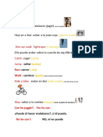 Tema 4 Ingles 2º primaria santillana