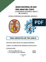 272220845-Los-Depositos-de-Oro-Tipo-Carlin-Son-Yacimientos-Epitermales-Con-Granulometria-Fina.docx