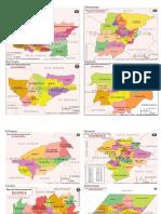 Departamentos de Guatemala Con Sus Municipios y Mapas