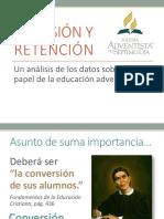 Taylor Adhesion y Retencion Rol de Educacion Adventista Sin Graficas