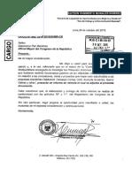 DOCUMENTO DE CONGRESISTA HUMBERTO MORALES SOBRE COMISIÓN LAVA JATO