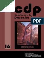 Cuadernos de Derecho Penal Volumen 16 - Trata de Seres Humanos Angelica Maria Castro Acosta