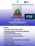 5.1.7 Placa Orificio