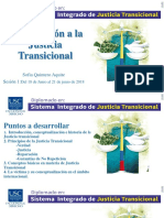 sesión 1 Diplomado en Justicia Transicional