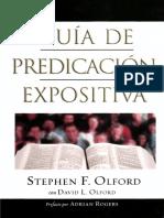 Stephen F. Olford Guía de Predicación Expositiva.pdf