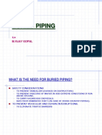 Buried Piping