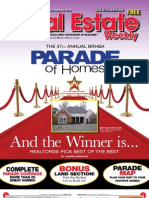 Real Estate Weekly - Parade of Homes Issue 2 - 10/14/2010