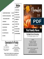 FBC Newsletter 11 2018.Pub