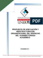 Reestructuración Del VRAC