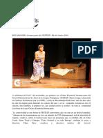 Bocamandja en El Festlip 2018-Rio de Janeiro, PDF